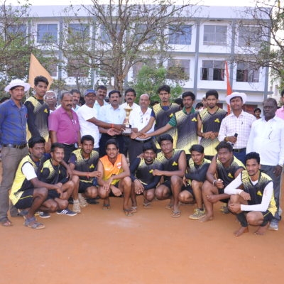 VTU Men's Volleyball Tournment 2017-18 Runner Up