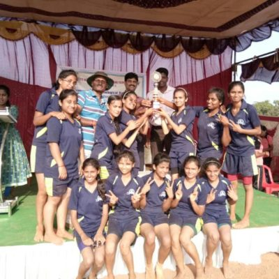 VTU Rest Of Bangalore Zone Women's Kho Kho Runnerup