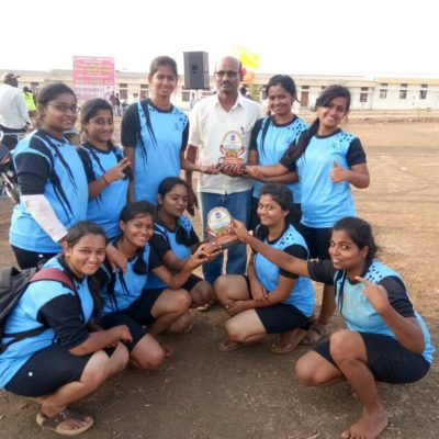 VTU Rest Of Bangalore Zone Women's Kabaddi 3rd Place