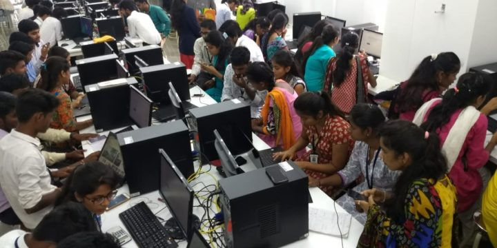 Online Test was conducted for the company Elint Labz, Bengaluru